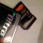 Újabb memóriakártya