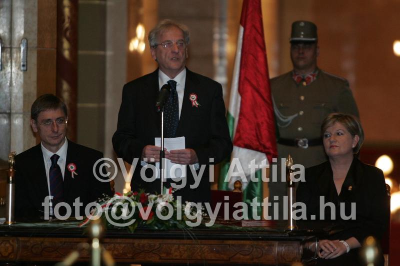 Közjogi Méltóságok a Parlament Kupolacsarnokában