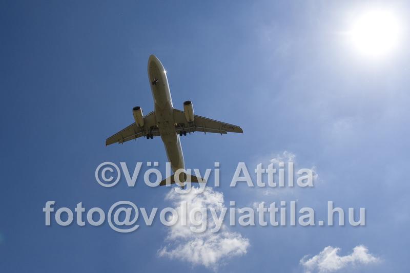 Ferihegy Airplane Traffic