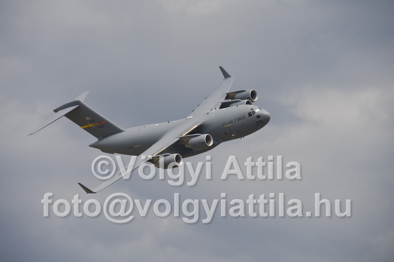 US Air Force C-17 - Fotó: Völgyi Attila / blog.volgyiattila.hu