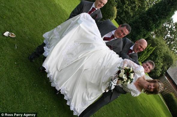 Kártérítésre kötelezték a kontár esküvői fotóst - birságot kell fizetnie, mert elrontotta az emlékképeketRészletekért katt a képre!Fotó: Gareth Bowers