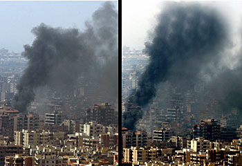 Adnan_Hajj_Beirut_smoke_Reuters_photo_comparison