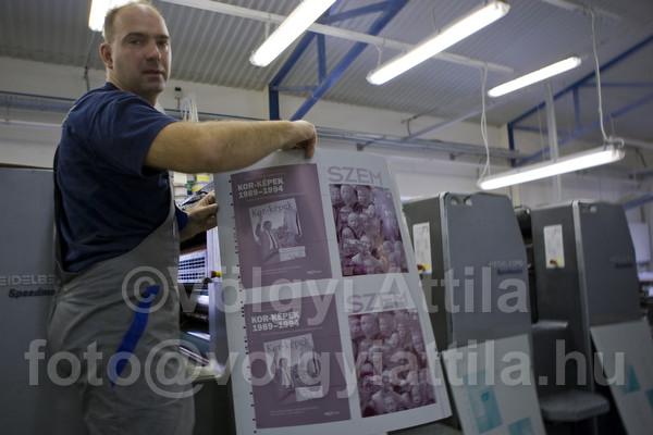 Printing Fotos Szem