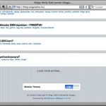 Szolgálati közlemény: WPtouch letiltva