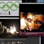 Galéria válogatás: űrsikló kilövés, Super Bowl, Velencei karnevál