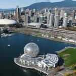 Vancouver madártávlatból