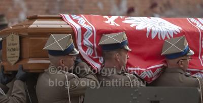 Lech Kaczynski lengyel köztársasági elnök temetése Krakkóban. 2010. április 18.Fotó: Völgyi Attila / blog.volgyiattila.hu