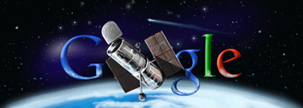 hubble2010-GoogleLogo