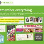 Post-it helyett Evernote – floppy helyett DropBox