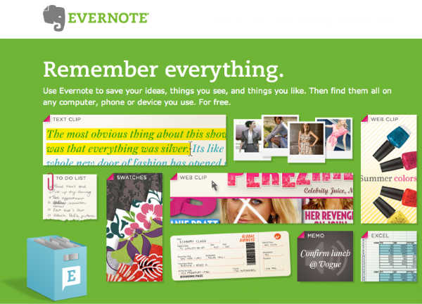 Evernote Post it helyett Evernote   floppy helyett DropBox