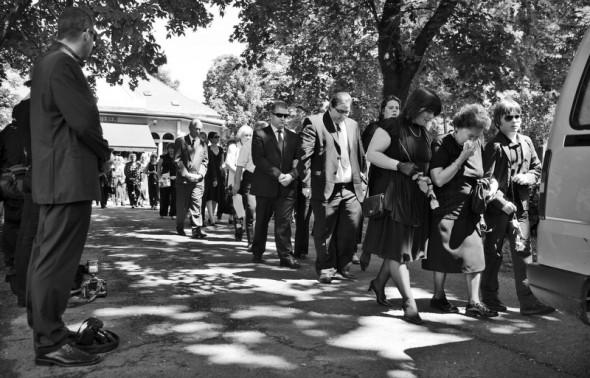 Fotóriporter tanítványai gyászolják az elhunyt Pólya ZoltántFotó: Posztós JánosTöbb fotóért katt a képre!