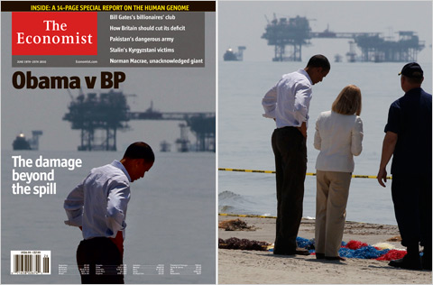 Economist-cover_Obama-gulf-Larry Downing-Reuters