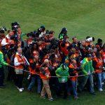 Fotósok munkája a foci VB-n