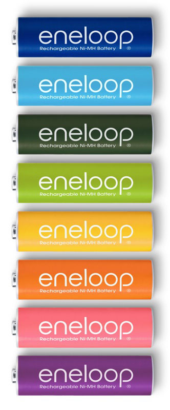Eneloop-8-color-battery-pack