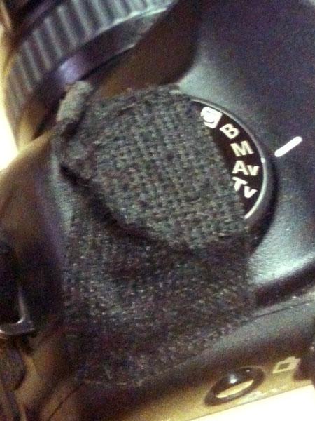Canon5D-leragasztva