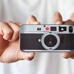 iPhone 4 hagyományos Leica kivitelben