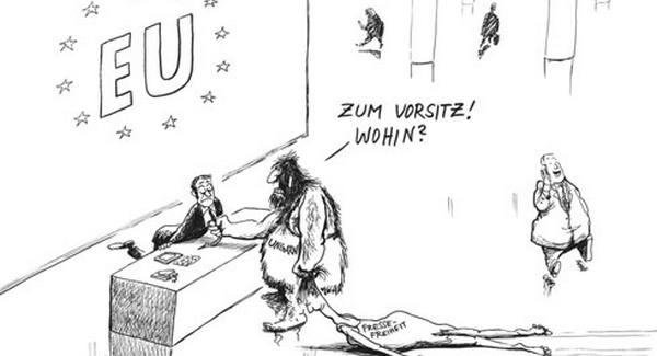 Orban-EU-karikatura-SuddeutscheZeitung