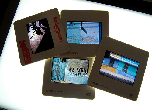 Kodachrome slides photoErikGould FlickrCC Végső búcsú a Kodachrome filmtől