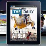 Botlással indul az első iPad újság