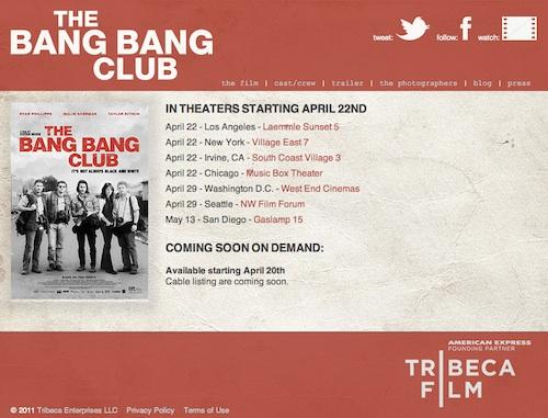 BangBangClub-website
