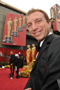 Mario on the Oscars red carpet Photo by Steve Granitz/REUTERS