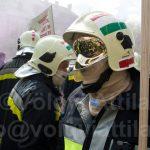 Tűzoltó tüntetés a fotósok szemével