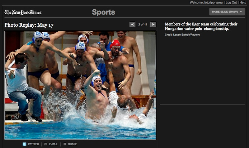 WaterpoloSplash-Eger-photoLaszloBaloghReuters