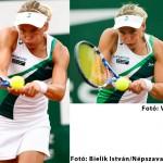 Ugyanabban a pillanatban készült tenisz képek