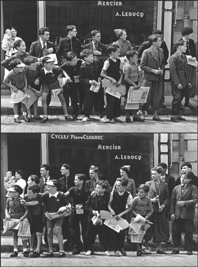 Tour de France 1939-ben - Fotó: Robert Capa/Magnum
