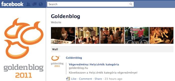 GoldenblogFacebook