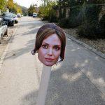 Az Origo lefotózta Angelina Jolie-t