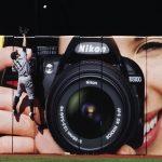 Óriási sportfotó – Nikon reklám Canon géppel
