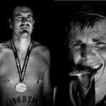 Stiller Ákos maratoni futó portréi