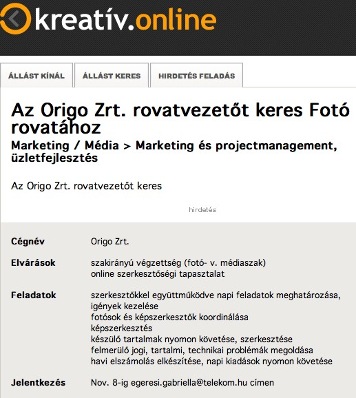 Fotorovat-vezeto-allashirdetes-Origo-KreativHu