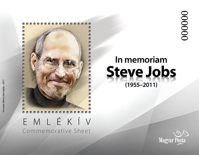 SteveJobs-emlekbelyeg-MagyarPosta