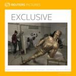 A Reuters lefotózta Steve Jobs készülő szobrát