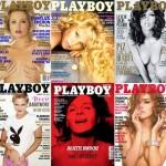 Playboy nyusziként meztelenkedő színésznők