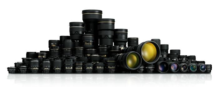 Nikon objektív sor