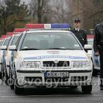 Új járőr autókat kapott a rendőrség