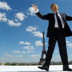 Nicolas Sarkozy hatásos kampánydíszletet talált