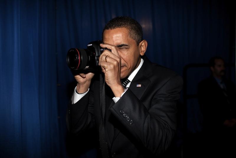 Kézi vezérelt propagnda fotókFotó: Pete Souza/White House