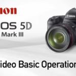 EOS 5D Mark III: ismertető videók a kártyán