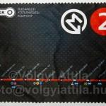 Egy ötletes repiajándék: metró térkép törlőkendő