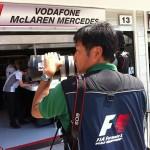 Instakép: F1 – munka a boxutcában