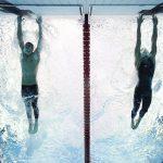 Michael Phelps és Milorad Cavic célfotója