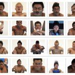 Muris műugró portrék