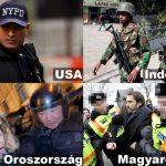 Mindenhol szabad rendőrt fotózni csak Magyarországon nem (frissítve)