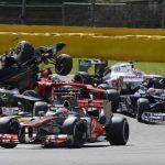 F1: szerencsés kép egy szerencsétlen balesetről