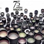 Átlépte a 75 milliót a Nikon objektívek száma
