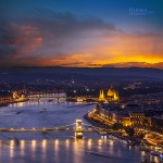 Mesebeli Budapesti naplemente – nem valóság!